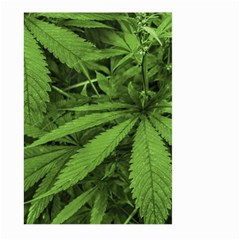 Marijuana Plants Pattern Large Garden Flag (two Sides)