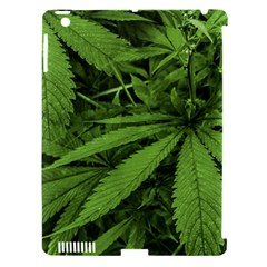 Marijuana Plants Pattern Apple Ipad 3/4 Hardshell Case (compatible With Smart Cover)