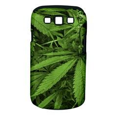 Marijuana Plants Pattern Samsung Galaxy S Iii Classic Hardshell Case (pc+silicone)