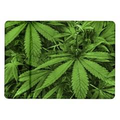 Marijuana Plants Pattern Samsung Galaxy Tab 10 1  P7500 Flip Case