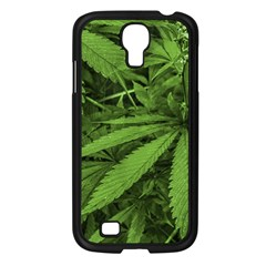 Marijuana Plants Pattern Samsung Galaxy S4 I9500/ I9505 Case (black)