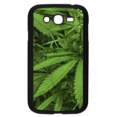 Marijuana Plants Pattern Samsung Galaxy Grand Duos I9082 Case (black)
