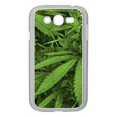 Marijuana Plants Pattern Samsung Galaxy Grand Duos I9082 Case (white)