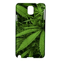 Marijuana Plants Pattern Samsung Galaxy Note 3 N9005 Hardshell Case