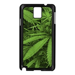Marijuana Plants Pattern Samsung Galaxy Note 3 N9005 Case (black)