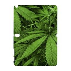Marijuana Plants Pattern Galaxy Note 1