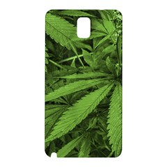 Marijuana Plants Pattern Samsung Galaxy Note 3 N9005 Hardshell Back Case