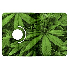 Marijuana Plants Pattern Kindle Fire Hdx Flip 360 Case