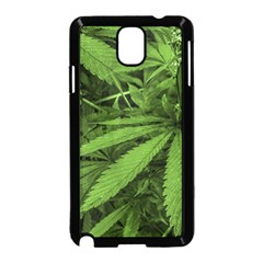 Marijuana Plants Pattern Samsung Galaxy Note 3 Neo Hardshell Case (black)