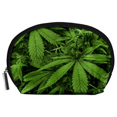 Marijuana Plants Pattern Accessory Pouches (large)