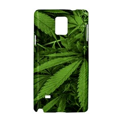 Marijuana Plants Pattern Samsung Galaxy Note 4 Hardshell Case