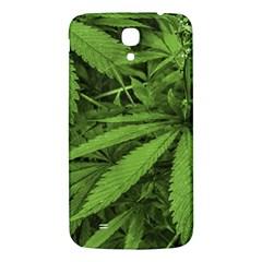 Marijuana Plants Pattern Samsung Galaxy Mega I9200 Hardshell Back Case