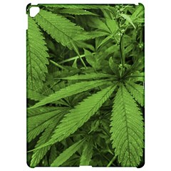 Marijuana Plants Pattern Apple Ipad Pro 12 9   Hardshell Case