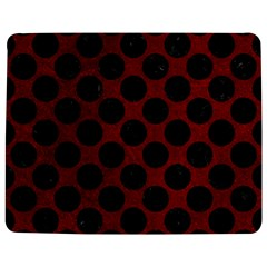 Circles2 Black Marble & Red Grunge Jigsaw Puzzle Photo Stand (rectangular)