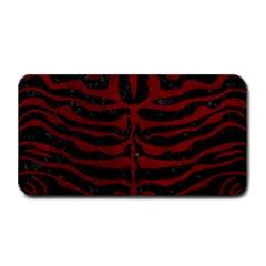 Skin2 Black Marble & Red Grunge (r) Medium Bar Mats