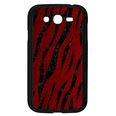 Skin3 Black Marble & Red Grunge Samsung Galaxy Grand Duos I9082 Case (black)