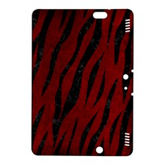 Skin3 Black Marble & Red Grunge Kindle Fire Hdx 8 9  Hardshell Case