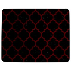 Tile1 Black Marble & Red Grunge (r) Jigsaw Puzzle Photo Stand (rectangular)