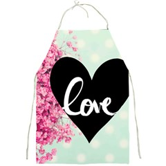 Modern Collage Shabby Chic Full Print Aprons