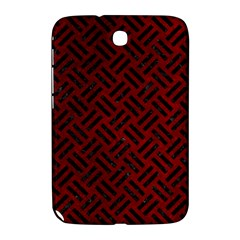 Woven2 Black Marble & Red Grunge Samsung Galaxy Note 8 0 N5100 Hardshell Case