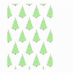Background Christmas Christmas Tree Small Garden Flag (two Sides)