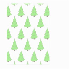 Background Christmas Christmas Tree Large Garden Flag (two Sides)