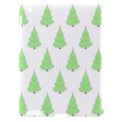 Background Christmas Christmas Tree Apple Ipad 3/4 Hardshell Case (compatible With Smart Cover)