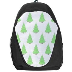 Background Christmas Christmas Tree Backpack Bag