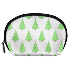 Background Christmas Christmas Tree Accessory Pouches (large)