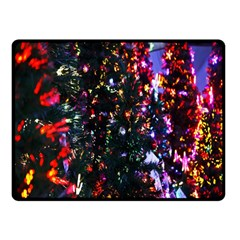 Abstract Background Celebration Double Sided Fleece Blanket (small)