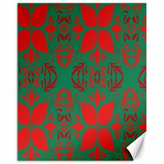 Christmas Background Canvas 16  X 20