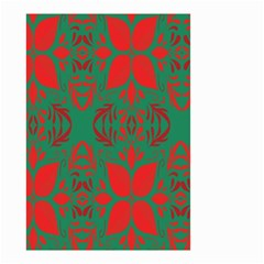 Christmas Background Small Garden Flag (two Sides)