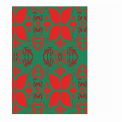 Christmas Background Large Garden Flag (two Sides)
