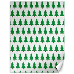 Christmas Background Christmas Tree Canvas 36  X 48