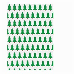 Christmas Background Christmas Tree Small Garden Flag (two Sides)