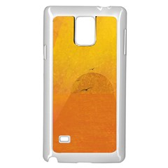 Sunset Samsung Galaxy Note 4 Case (white)