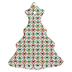 Christmas Decorations Background Ornament (christmas Tree)