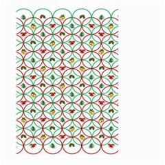 Christmas Decorations Background Large Garden Flag (two Sides)