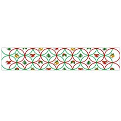 Christmas Decorations Background Flano Scarf (large)