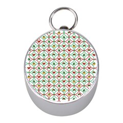 Christmas Decorations Background Mini Silver Compasses