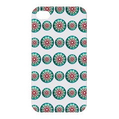 Christmas 3d Decoration Colorful Apple Iphone 4/4s Hardshell Case