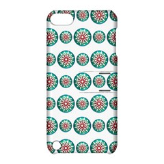 Christmas 3d Decoration Colorful Apple Ipod Touch 5 Hardshell Case With Stand