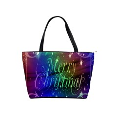 Christmas Greeting Card Frame Shoulder Handbags