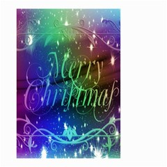 Christmas Greeting Card Frame Small Garden Flag (two Sides)