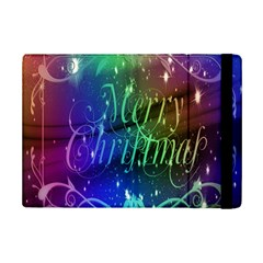 Christmas Greeting Card Frame Ipad Mini 2 Flip Cases
