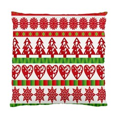Christmas Icon Set Bands Star Fir Standard Cushion Case (two Sides)