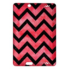 Chevron9 Black Marble & Red Watercolor Amazon Kindle Fire Hd (2013) Hardshell Case