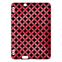 Circles3 Black Marble & Red Watercolor (r) Kindle Fire Hdx Hardshell Case