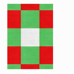 Fabric Christmas Colors Bright Large Garden Flag (two Sides)