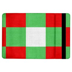 Fabric Christmas Colors Bright Ipad Air Flip